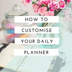 How To Customize Your Daily Planner - heart handmade uk shows you the diy organization that goes into her planner! With gorgeous designs from The Lilypad that were printed out and used as dividers. The planner is used in daily life with lots of fun stickers and doodles