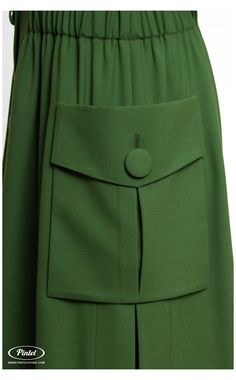 Couture Details, Fashion Details, Women's Dresses, Fashion Dresses, Military Fashion, Military Style, Designs For Dresses, Overall, Fashion Sewing