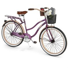 So cute  College bike here we come!  Huffy® Deluxe 26 inch Cruiser Bicycle, Women's
