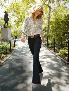 "The best pair of jeans can make your body look slimmer, taller, even younger. Why settle for ""good e"