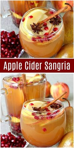 Apple Cider Sangria Apple Cider Sangria is the perfect way to enjoy sangria on a crisp Fall night! Watch the video showing you how to make Apple Cider Sangria, Alcohol Drink Recipes, Sangria Recipes, Cocktail Recipes, Sangria Cocktail, Fall Sangria, Fall Drinks Alcohol, Holiday Sangria, Margarita Recipes, Gastronomia