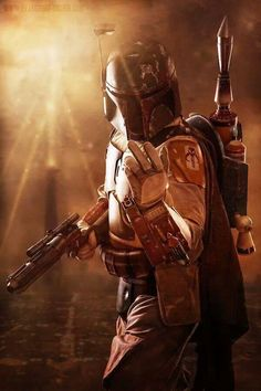 Boba Fett- because it's not what you do in a movie, but how cool you look while doing it.