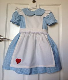 Items similar to Custom Hand Made Alice in Wonderland inspired Dress size on Etsy Everyday Princess, Belle Dress, Princess Dresses, Baby Girl Fashion, Disney Inspired, Little Princess, Alice In Wonderland, Costume Ideas, Sewing Ideas