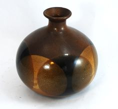 Pottery Craft 10 Moon Vase  Free US Priority by ModPropShop
