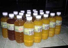 Baris ke 2 dari depan) oleh Lulu In NF Natural Cough Remedies, Home Remedies, Hot Sauce Bottles, Healthy Drinks, Healthy Habits, Health And Beauty, Health Tips, Detox, Herbalism
