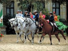 Feria de Sevilla. Spain