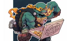 Alex Redfish – TMNT