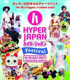 Hyper Japan Festival July 2017 #hyperjapan #japan