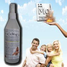 iCoMag Ionisert Kolloidalt Magnesium 500ml - Bergen Helse