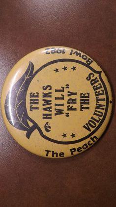 1982 Peach Bowl Button - 1