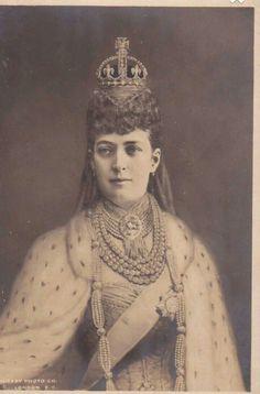 Queen Alexandra still a beautiful