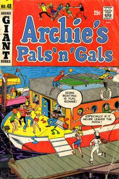 A cover gallery for the comic book Archie's Pals 'n Gals Archie Comics Characters, Archie Comic Books, Comic Book Characters, Comic Character, Book Cover Art, Comic Book Covers, Archie Comics Riverdale, Archie Jughead, Archie And Betty