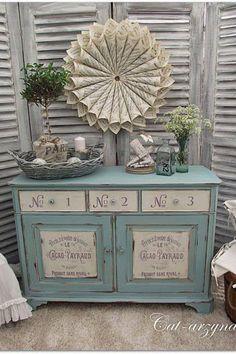 funky redone furniture | Pin it Like Image
