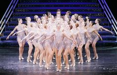 The Rockettes in the Radio City Christmas Spectacular.