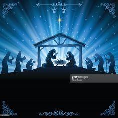 Arte vectorial : Natividad