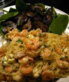 Quick Shrimp Pasta
