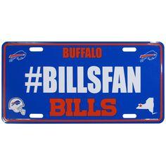 Buffalo Bills License Plate - Hashtag (backorder)