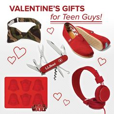 Valentine's Gifts for Teen Guys on: http://blog.gifts.com/gift-trends/valentines-gifts-for-teen-guys#