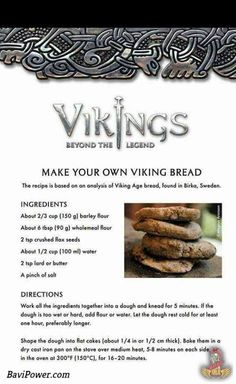 Vikings ¤totally want to try this Medieval Recipes, Ancient Recipes, Nordic Diet, Viking Food, Nordic Recipe, Norwegian Food, Snacks Saludables, Scandinavian Food, Good Food