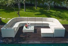 Skyline Design Pacific Outdoor Modular Deep Seating Collection available LandscaperOutlet.com Skyline Design, Outdoor Furniture Sets, Outdoor Decor, Global Brands, Indoor, Deep, Traditional, Luxury, Modern
