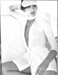 Lois Chiles  by Chris von Wangenheim, Vogue May 1973