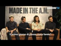 One Direction Corriere Interview - YouTube
