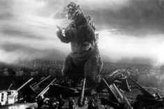 Looking back on 60 years of Godzilla before he tears down the city again in 2014