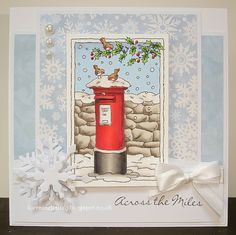 LOTV - Christmas Scenes Postbox by Lorraine Bailey