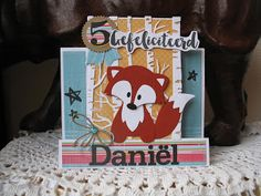 Marianne Design, Baby Cards, Stamps, Animals, Fox, Cards, Seals, Animales, Animaux