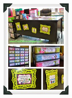 From Erica's Ed-Ventures First Grade Classroom Decor - Ideas could be used the library.
