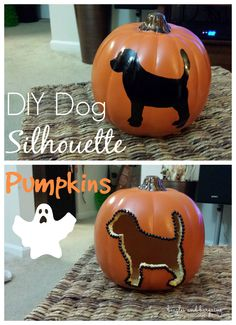 DIY Dog Silhouette C