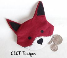 Fox Coin Pouch | Craftsy