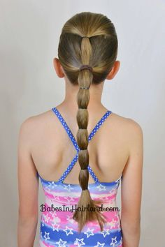 10+ No Fuss Hairstyles for Summer or the Pool | Babes In Hairland
