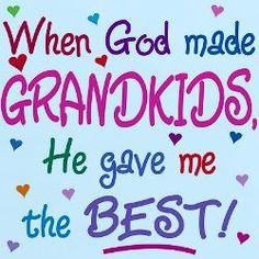 """When God made grandkids …"""