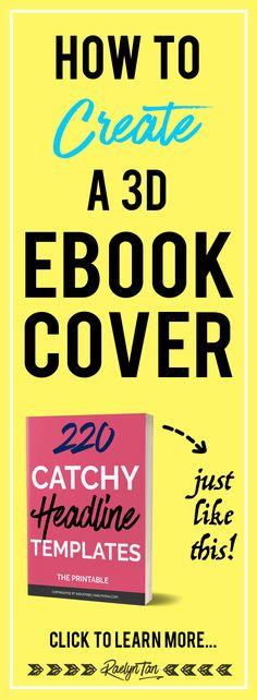 79 best book cover design tactics images on pinterest book covers how to make a 3d ebook cover in 10 minutes diy your ebook fandeluxe Images