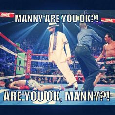 #MannyPacquiao memes should make me sad but they don't