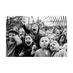 Children at the Tuileries Puppet Theatre, 1963, by Alfred Eisenstaedt