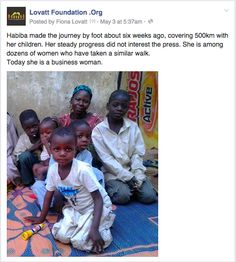 Habiba's long walk has brought her to Kano and a fresh start.