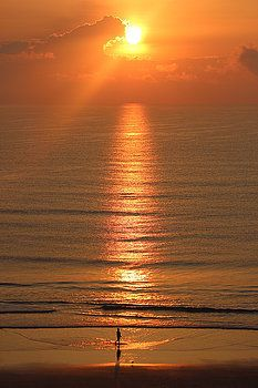 Mesa Teresita - Orange Sunrise