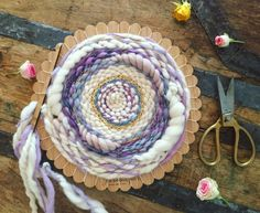 The Ultimate Crafter Kit round loom lap loom by TheUnusualPear