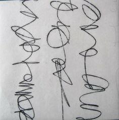 Monotype à l'huile, Nathalie Le Reste