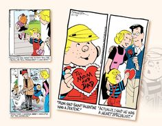 Promotional Wall Calendars 2017 - Dennis The Menace Comic Art Calendar - February Wall Calendars, Art Calendar, Calendar 2017, Dr Valentine, Dennis The Menace Comic, Comic Art, February, Calendar For 2017, Cartoon Art