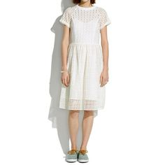 Madewell - Eyelet Hideaway Dress