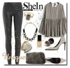 """SheIn / Unique"" by emperormpf ❤ liked on Polyvore featuring Giles & Brother, Helmut Lang, BEA, Miss Selfridge, Giorgio Armani, Londontown, women's clothing, women, female and woman"