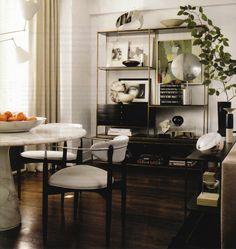 S. Russell Groves's Manhattan Apartment - Elle Decor - the goods design blog