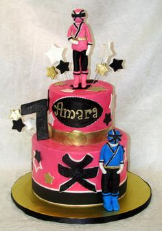 how to make a unicorn cake pink power ranger cake cakes by rosemary s daughters 4974