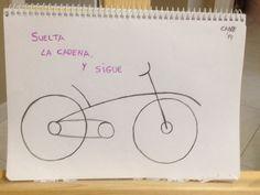 A pedalear... #noshacemosundia #blog