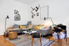 Tapis gris noir - House Doctor - Tapis Industriel - Meubles & Deco - Industriel - Ambiance et styles