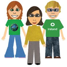 Learn about Ireland - website for kids