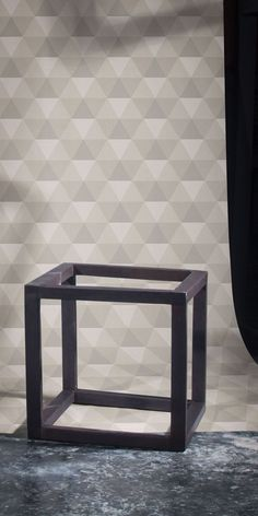 Crystal Trompe L'Oeil by Glenn Todd — Shop Minimalist Wallpaper, Geometric Wallpaper, Elle Decor, Designer Wallpaper, Wallpapers, Pure Products, Crystals, Modern, Shop